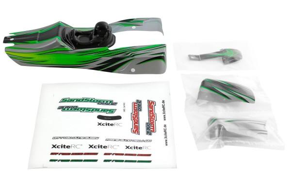 XciteRC Karosserie für SandStorm one12 grün
