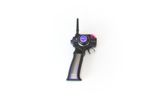 XciteRC Sender 2.4 GHz für High-Speed Racebuggy purple