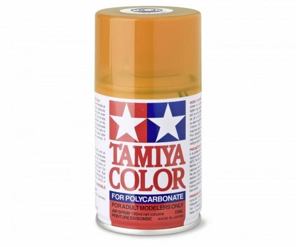 Tamiya Lexan Sprühfarbe PS-43 Translucent Orange Polyc. 100ml
