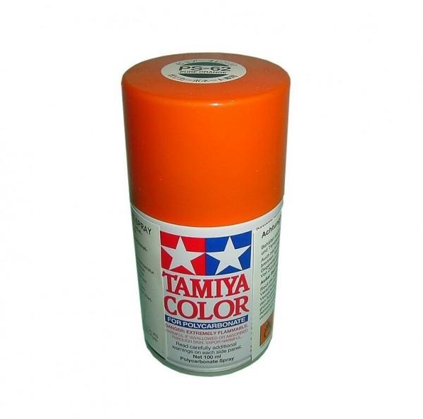 Tamiya Lexan Sprühfarbe PS-62 Pure Orange (ENEOS) 100ml Spray