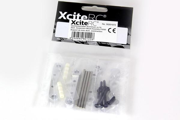 XciteRC Querlenkerhalter Aluminium vo./hi. für Sand Rail