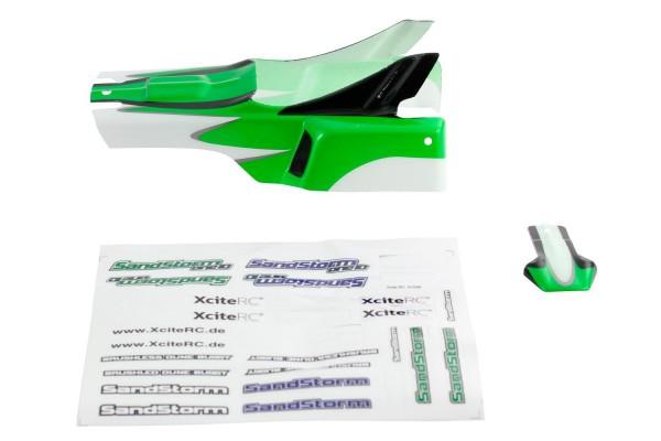 XciteRC Karosserie grün + Decals für SandStorm one10