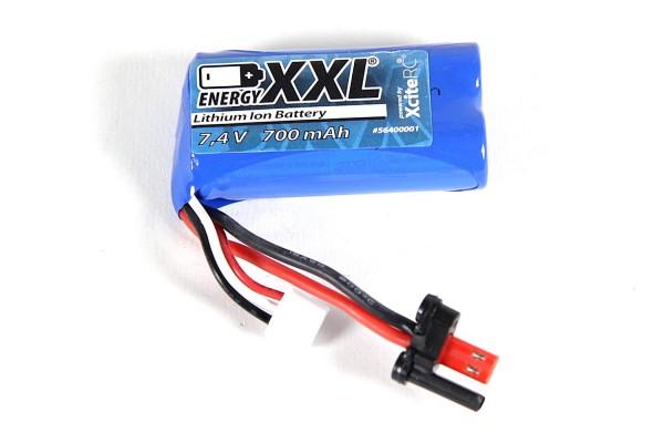 XciteRC - energyXXL LiIo Akku 7,4V 700 mAh X-Tide micro