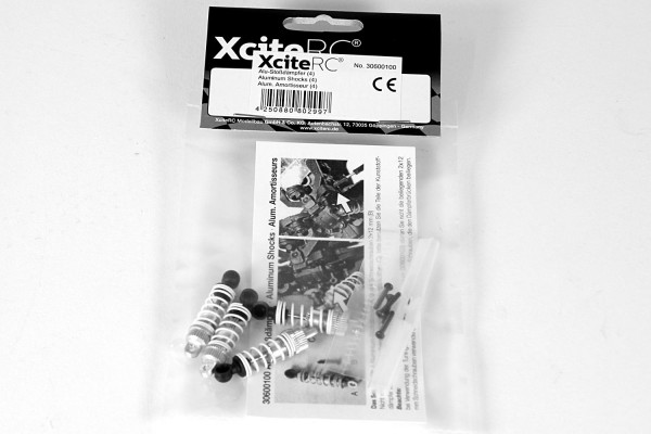 XciteRC Alu-Stoßdämpfer (4) für twenty4 Serie