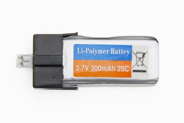 XciteRC - energyXXL LiPo-Akku 3.7 V/300 mAh, Flybarless 245