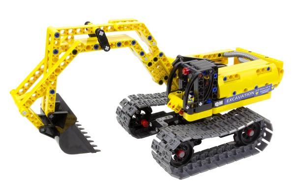 Teknotoys Active Bricks 2in1 Bagger & Roboter
