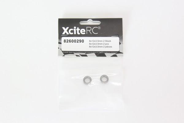 XciteRC Kugellager 8x12x3,5mm 2 Stück