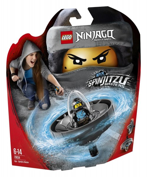 LEGO Ninjago Action Toy - 70634 Spinjitzu-Meisterin Nya