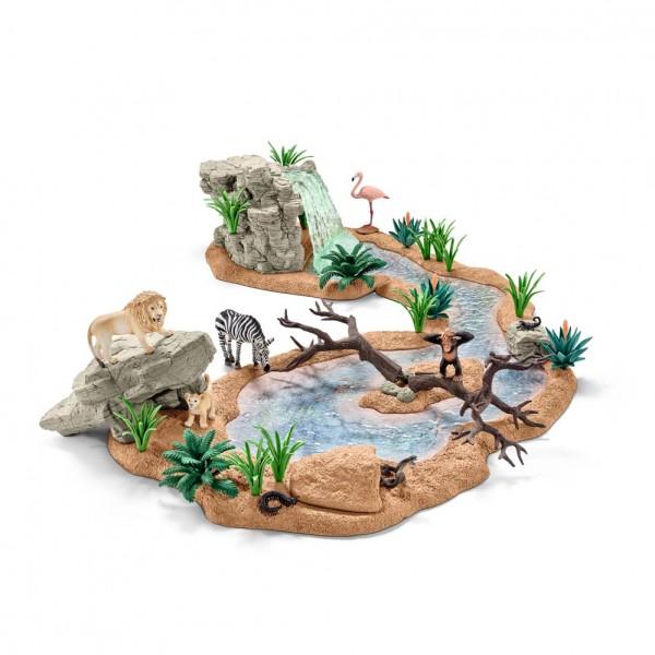 Schleich Große Abenteuer-Wasserstelle