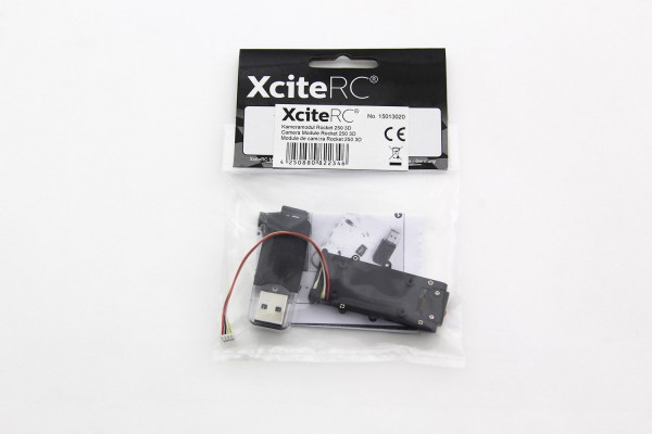 XciteRC Kameramodul für Quadrocopter Rocket 250 3D