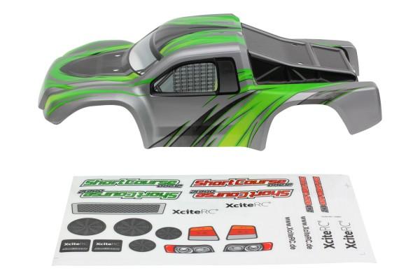 XciteRC Karosserie für Shortcourse one12 grün