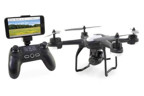 XciteRC Rocket 220 Sport FPV GPS Quadrocopter - RTF-Drohne mit 720p-Kamera