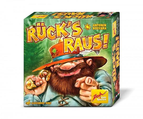 Zoch Rück's raus! Kartenspiel mit Banditen für die Familie 601105127