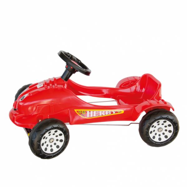 Siva Herby Car Tretfahrzeug rot Tretauto Kinderfahrzeug Kinderauto Auto