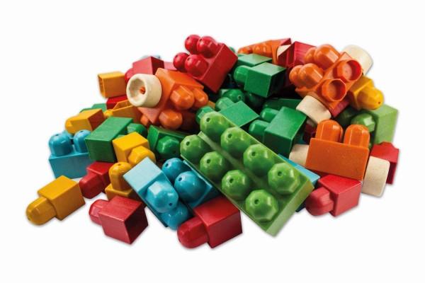 Anbac Toys 95-teilig Steine Set Antibakteriell Bausteine 70067 Bauklötze