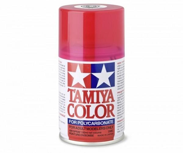 Tamiya Lexan Sprühfarbe PS-37 Translucent Rot Polyc. 100ml