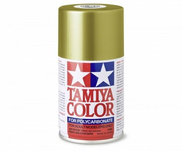 Tamiya Lexan Sprühfarbe PS-13 Gold Polycarbonat 100ml