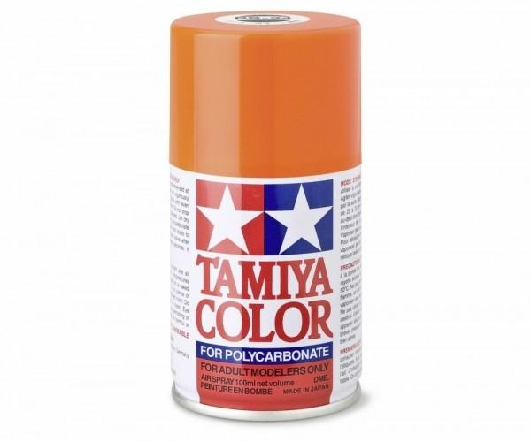 Tamiya Lexan Sprühfarbe PS-24 Neon Orange Polycarbonat 100ml