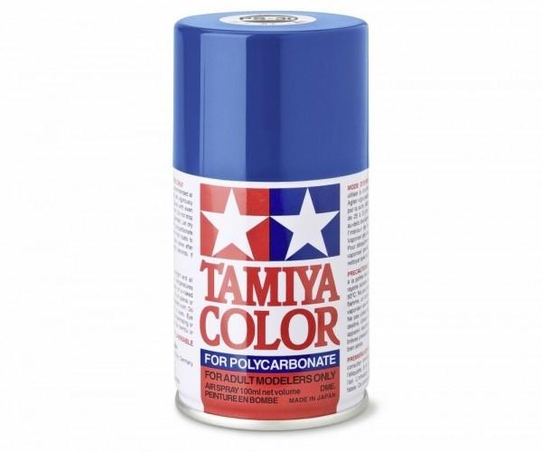 Tamiya Lexan Sprühfarbe PS-30 Brillant Blau Polycarbonat 100ml