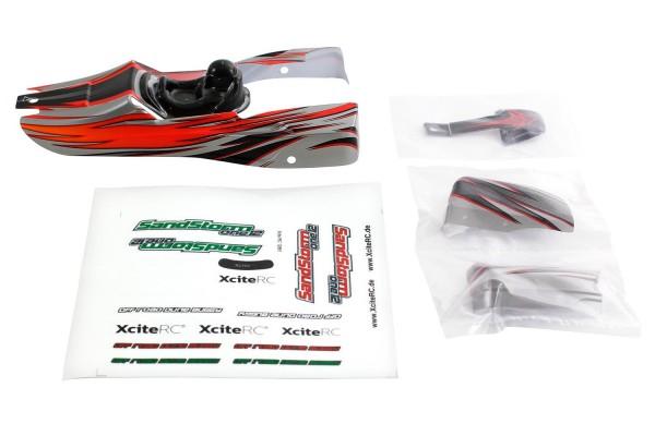 XciteRC Karosserie für SandStorm one12 rot