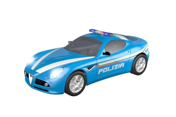 Teknotoys Alfa Romeo 8C Polizia Slot-Car 1:43
