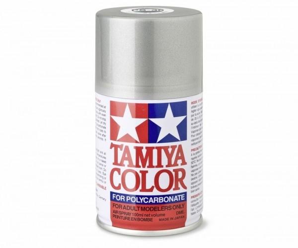 Tamiya Lexan Sprühfarbe PS-36 Translucent Silber Polyc. 100ml