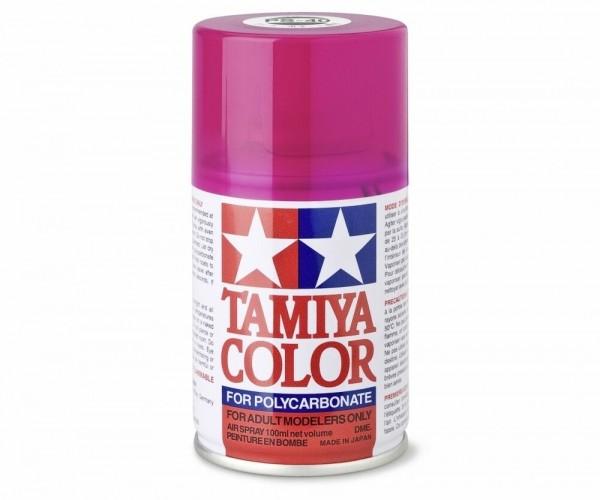 Tamiya Lexan Sprühfarbe PS-40 Translucent Rosarot Polyc. 100ml