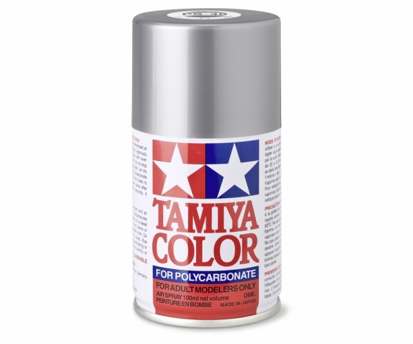 Tamiya Lexan Sprühfarbe PS-48 Alu-Silber (Chrom) Polyc. 100ml