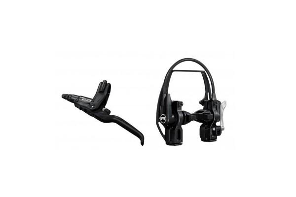 MAGURA HS22 schwarz, 3-Finger-Hebel, links/rechts verwendbar, 2.000 mm Leitungslänge, mit EVO2 Anbau