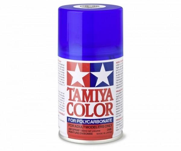 Tamiya Lexan Sprühfarbe PS-38 Translucent Blau Polyc. 100ml