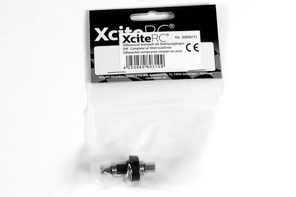 XciteRC Differenzial komplett mit Stahlausgängen für twenty4 Serie