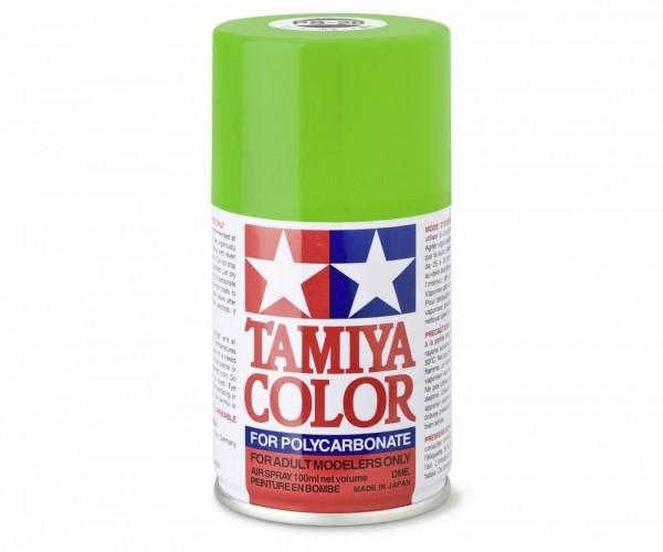 Tamiya Lexan Sprühfarbe PS-28 Neon grün Polycarbonat 100ml