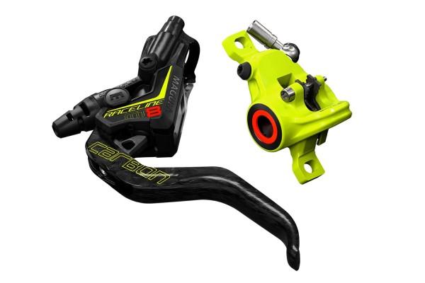 MAGURA MT8 Raceline, 1-Finger Carbolay-Hebel, links/rechts verwendbar, 2.200mm \n Leitungslänge, Ein