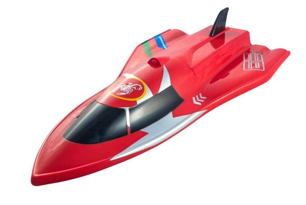 Siva RC Rennboot Razer Speed Boat 2.4 GHz RTR - Rot