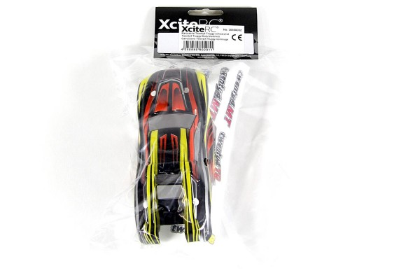 XciteRC Karosserie für Truggy twenty4 TR schwarz/rot