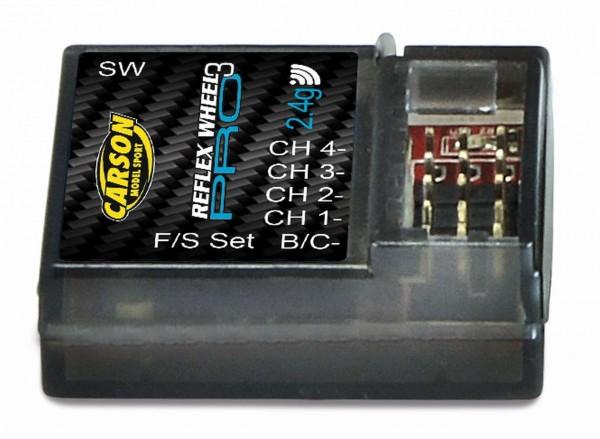 Carson Empfänger Reflex Wheel PRO 3 2.4 GHz 4 Kanal Ergänzungsempfänger