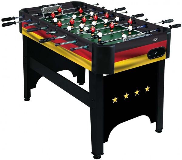 CARROMCO Kicker DEUTSCHLAND-XT Design in Landesfarben Deutschlands Tischfußball