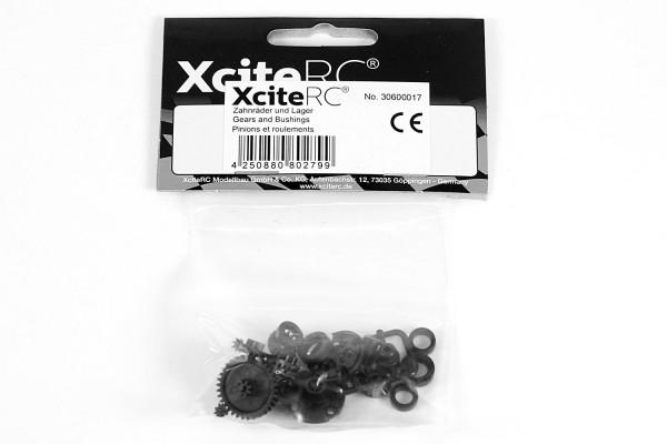 XciteRC Zahnräder und Lager für twenty4 Serie