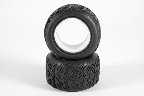 XciteRC Reifen mit Einlage (2) für Truggy one16 TR