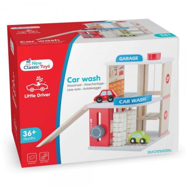 Eitech GmbH New Classic Toys - 11041 - Garage mit Autowäsche und 2 Autos
