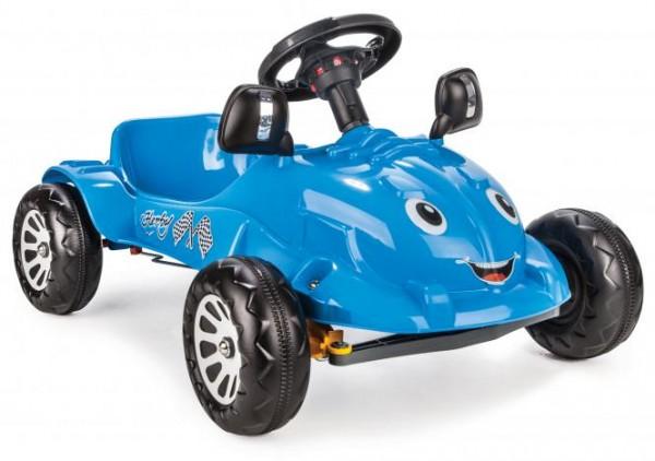 Siva Herby Car Tretfahrzeug blau Tretauto Kinderfahrzeug Kinderauto Auto