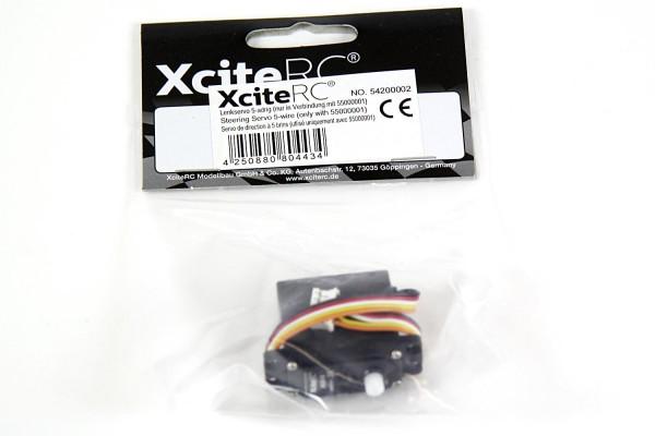 XciteRC Servo XLS-13 5-adrig (nur in Verbindung mit 55000001)